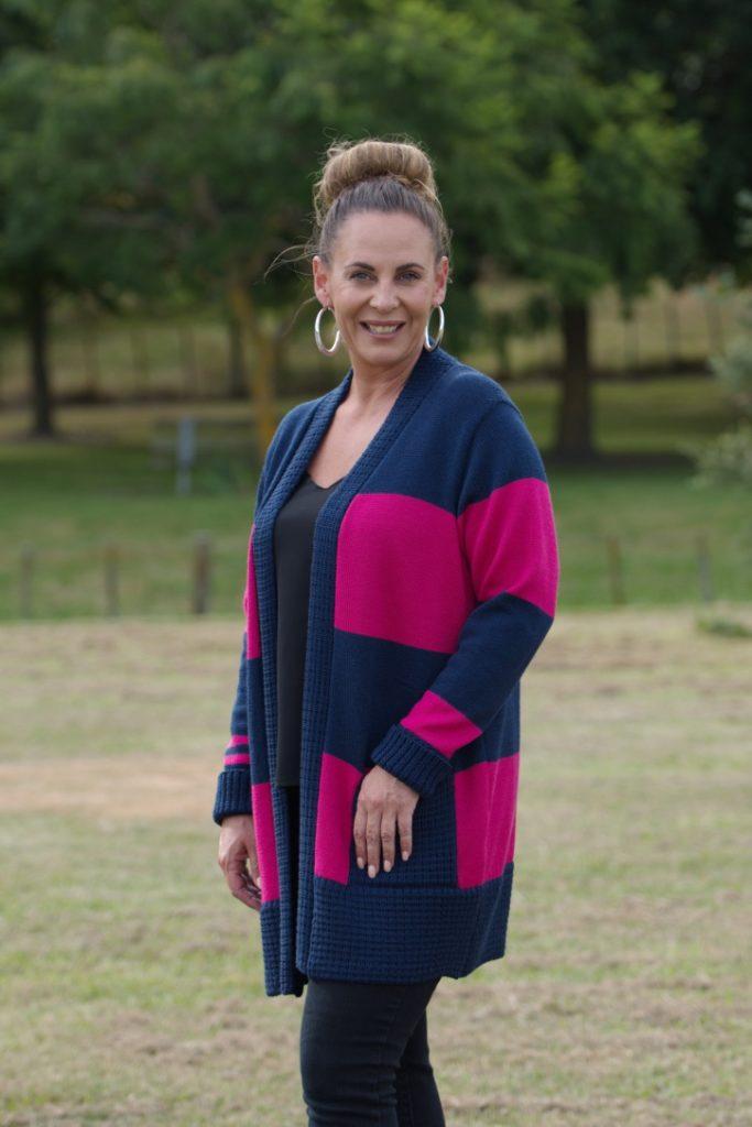 woman's-knitwear-W23-merino-wide-stripe-longline-cardy$220