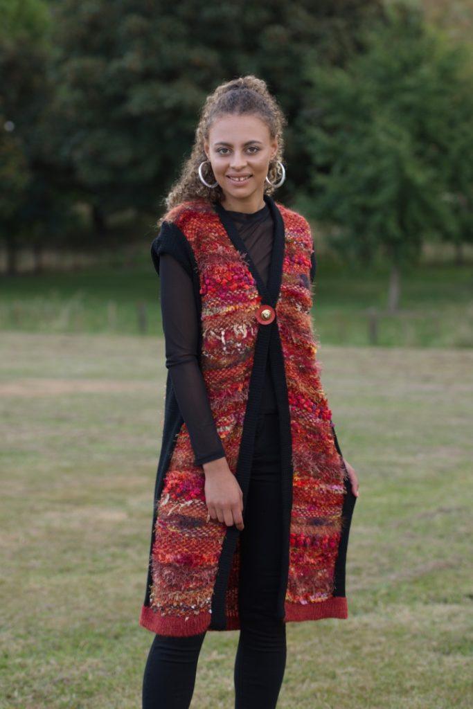woman's-knitwear-W5-merino-mixed yarns-knitweave-jacket-$300jpg