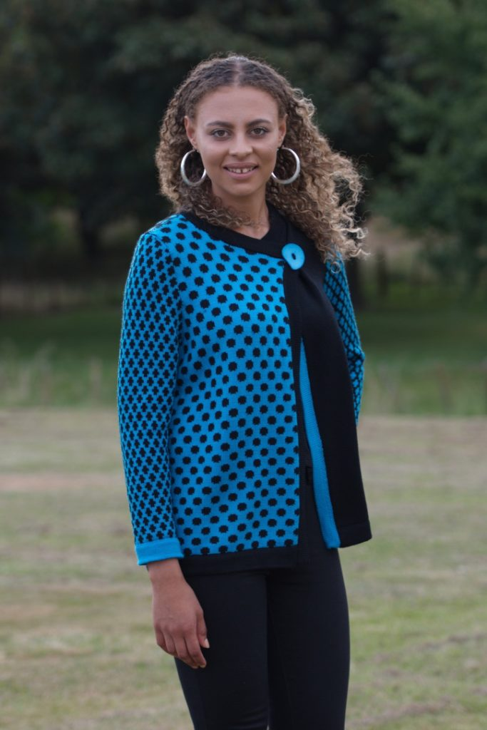 woman's-knitwear-W7b-merino-spots-jacket-$160